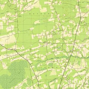 Topographical Maps of South Carolina 18881975 South Carolina
