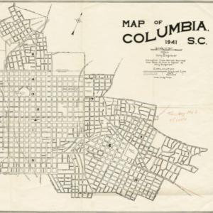 map of Columbia, S.C.
