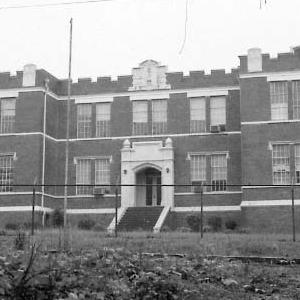 Exterior of school