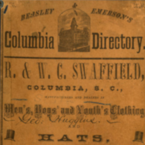 Cover of Columbia City Directory