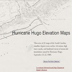 Hurricane Hugo Elevation Maps thumbnail