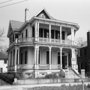 Exterior of house