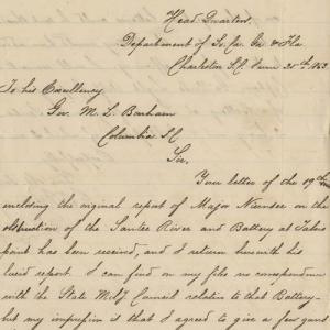 Confederate Military Correspondence