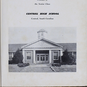 Central High School yearbook image