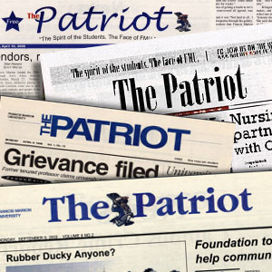 The Patriot student newspaper