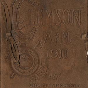 Clemson Commencement programs