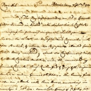 Charleston Museum Collection of Revolutionary War Letters