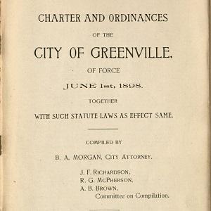 Greenville City Codes & Ordinances