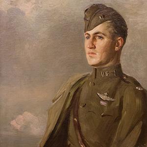 Portrait of John O.W. Donaldson in an army uniform