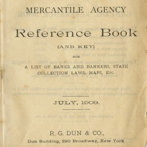 Mercantile Agency Reference Book of South Carolina